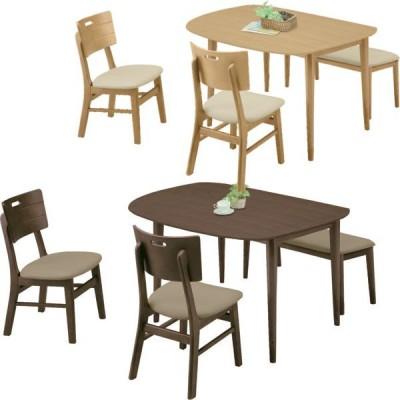 ダイニングセット 4点セット ダイニング4点セット 4人用 ダイニングテーブルセット 幅130cm 食卓 シンプル モダン