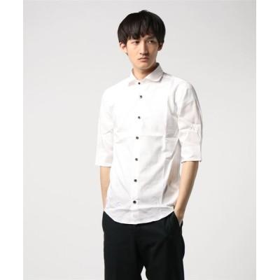BURNER / 【K・U・I】国産ワイドカラー5分袖シャツ MEN トップス > シャツ/ブラウス