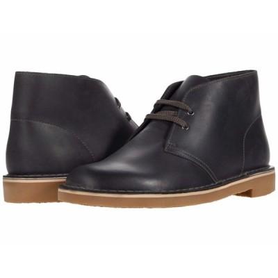 クラークス ブーツ&レインブーツ シューズ メンズ Bushacre 3 Grey Leather