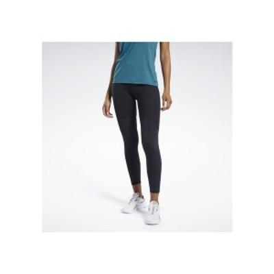 リーボック レディース レギンス ボトムス PUREMOVE MOTION SENSE TRAINING LEGGINGS - Leggings - black black