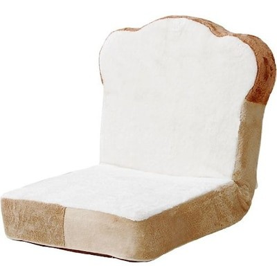 セルタン 日本製 低反発 食パン 座椅子 ノーマルタイプ リクライニング PN1a-14段-359W