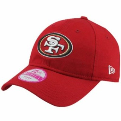 New Era ニュー エラ スポーツ用品  New Era San Francisco 49ers Ladies Essential 9FORTY Hat - Scarlet