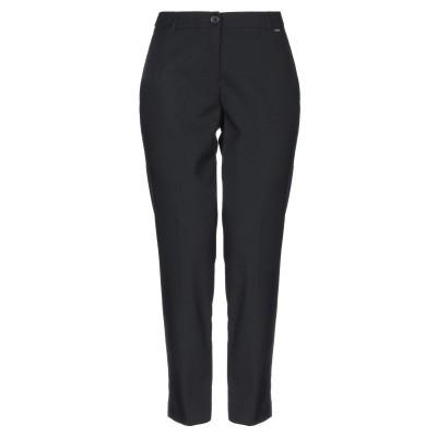 LE COEUR TWINSET パンツ ブラック XS ポリエステル 69% / レーヨン 29% / ポリウレタン 2% パンツ