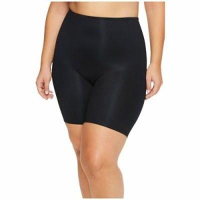 スパンクス その他インナー Plus Size Power Conceal-Her Mid Thigh Shorts Very Black