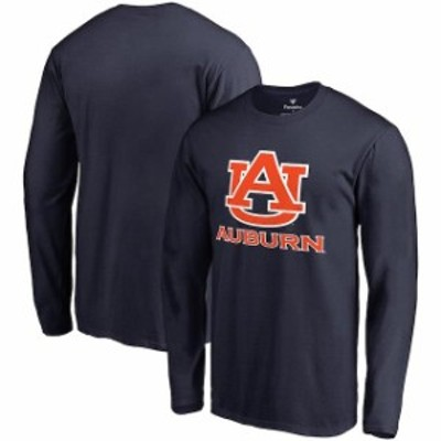 Fanatics Branded ファナティクス ブランド スポーツ用品  Fanatics Branded Auburn Tigers Navy Team Lockup Long Sle