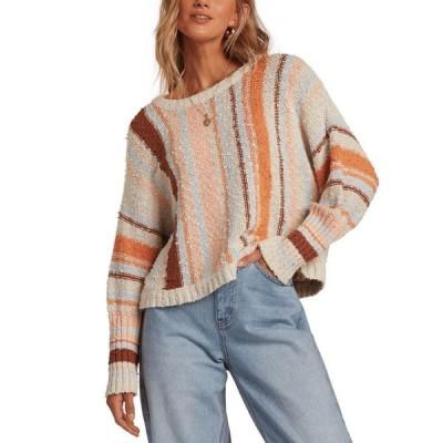 ビラボン レディース ニット・セーター アウター Easy Going Cotton Cropped Sweater