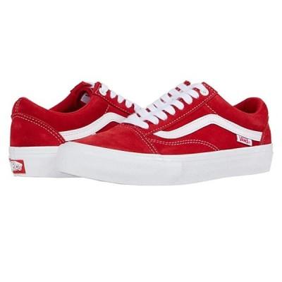 バンズ Old Skool Pro メンズ スニーカー 靴 シューズ (Suede) Red/White