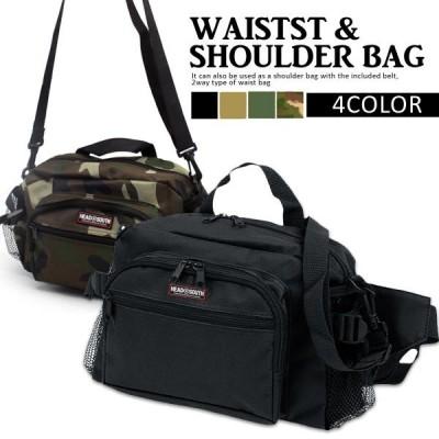 ウエストバッグ ボディバッグ メンズ レディース ショルダーバッグ バッグ bag 鞄 かばん アウトドア カジュアル ファッション スポーツ 男女兼用 2WAY