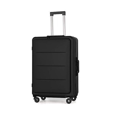 Roam.Cove フロントオープン スーツケース 軽量 機内持ち込み キャリーケース キャリーバッグ 静音 ビジネス TSAロ