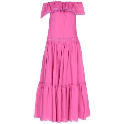 KI6? WHO ARE YOU? ロングワンピース&ドレス モーブ 42 ラミー 100% ロングワンピース&ドレス
