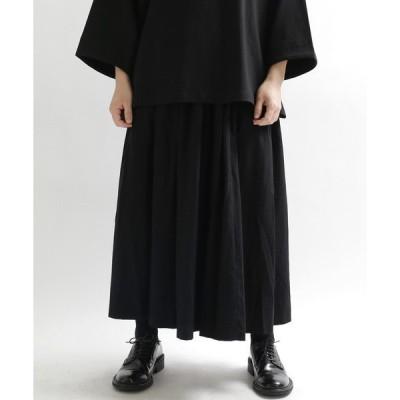 スカート 【minsobi】ユニセックスボリュームスカート
