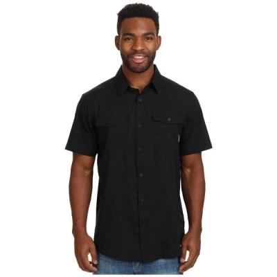 コロンビア シャツ トップス メンズ Utilizer II Solid Short Sleeve Shirt Black