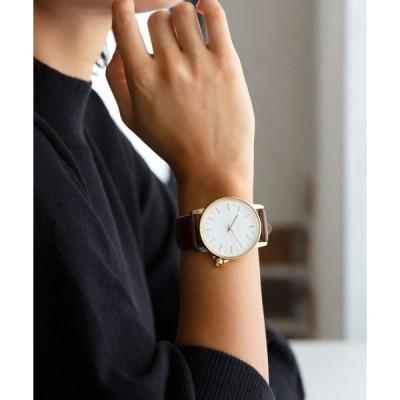 腕時計 ゴールド文字盤腕時計