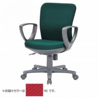 アイコ 事務用チェア ローバックサークル肘タイプ OA-1155CJ(FG3)RE
