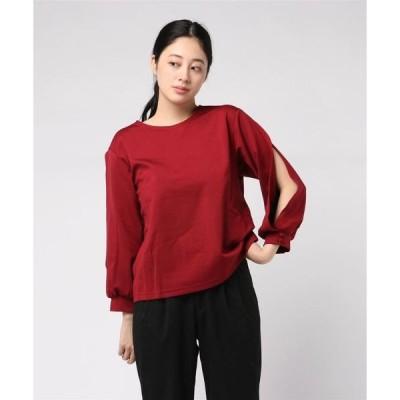 tシャツ Tシャツ 603 ポンチスリットカットソー