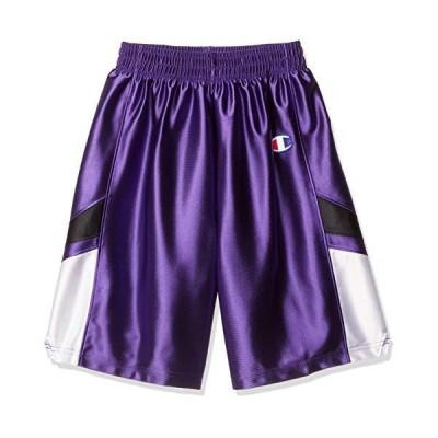 [チャンピオン] ジュニア ゲームパンツ バスケットボール CBYR2084 ガールズ パープル 140
