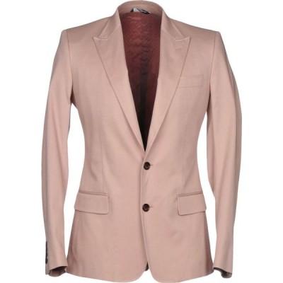 ドルチェ&ガッバーナ DOLCE & GABBANA メンズ スーツ・ジャケット アウター blazer Pink