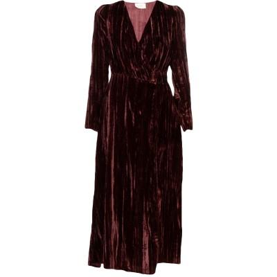 VICOLO 7分丈ワンピース・ドレス ディープパープル M レーヨン 75% / ナイロン 25% 7分丈ワンピース・ドレス