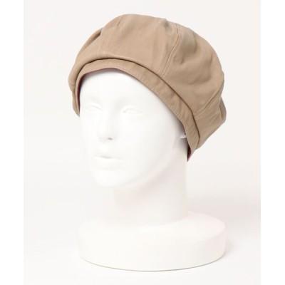 realize / 【w】【it】【LW】エコレザーベレー帽 - eco leather beret WOMEN 帽子 > ハンチング/ベレー帽