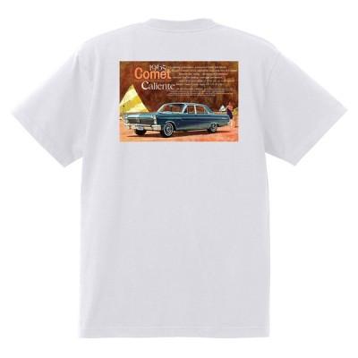 アドバタイジング マーキュリーTシャツ 白 1164 黒地へ変更可 1965 モントレー クーガー パークレーン ホットロッド