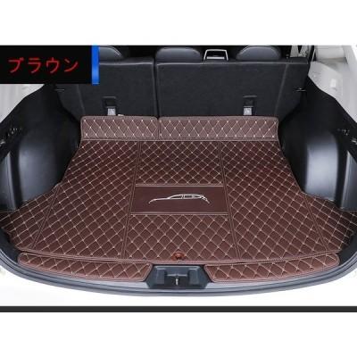スバル?フォレスター5代目SK系用車のトランクマット防水カーゴマットラゲッジマットレザートランクトレイ3P選べる3色
