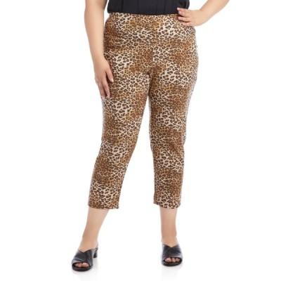 カレンケーン カジュアルパンツ ボトムス レディース Leopard Print Piper Pants Leopard