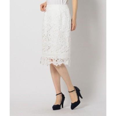 スカート レースタイトスカート