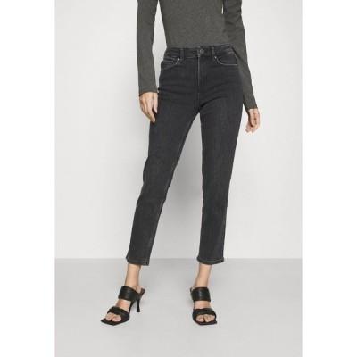ピーシーズ デニムパンツ レディース ボトムス PCLILI - Slim fit jeans - black denim