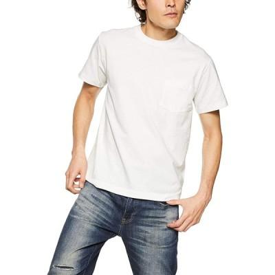 [ユナイテッドアスレ] 5.6オンスハイクオリティーT(ポケ付) メンズ 500601 ホワイト 日本 S (日本サイズS相当)