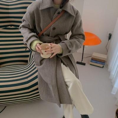 HEYLADY レディース コート Tiny Wool Long Coat