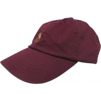 ポロ ラルフローレン ワンポイント キャップ 帽子 ワイン メンズ Polo Ralph Lauren 060