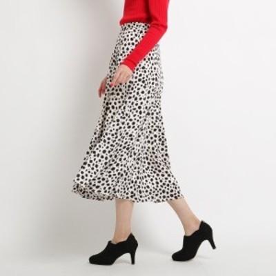 エージー バイ アクアガール(AG by aquagirl)/レオパード柄サテンスカート