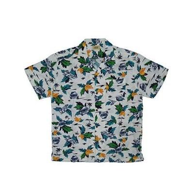 [エドウィン] シャツ EDWINが満載! ! 半袖 アロハシャツ メンズ ET2089 ホワイト 日本 L (日本サイズL相当)