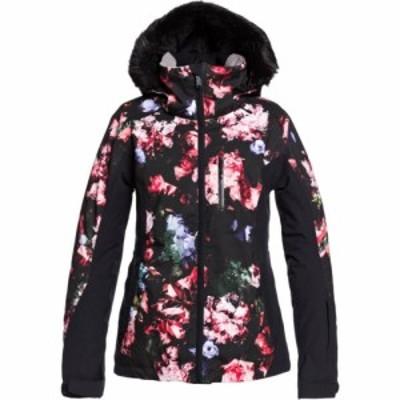 ロキシー Roxy レディース スキー・スノーボード ジャケット アウター jet ski premium snowboard jacket True Black Blooming Party