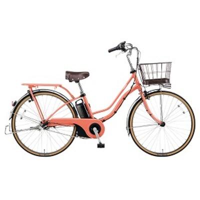 PANASONIC BE-ELTA633-R シアースカーレット ティモ・I [電動アシスト自転車(26インチ・内装3段)]