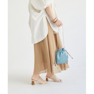 archives / シャンブレーフレアスカート WOMEN スカート > スカート