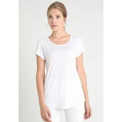 GAP レディーストップス GAP LUXE - Basic T-shirt - white white