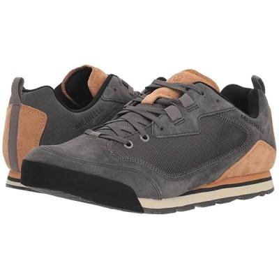 メレル Burnt Rock Travel Suede メンズ スニーカー 靴 シューズ Granite