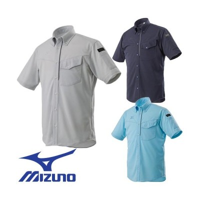 ミズノ MIZUNO ニットワーク半袖シャツ F2JC859004、F2JC859014、F2JC859019