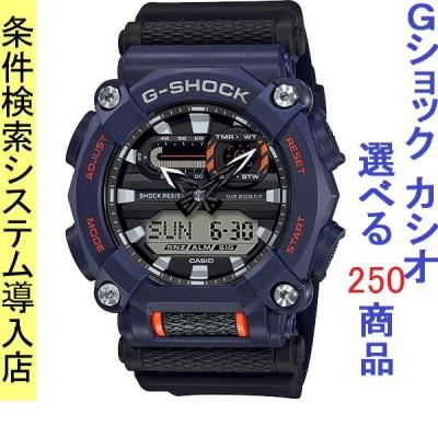 腕時計 メンズ カシオ(CASIO) Gショック(G-SHOCK) 900型 アナデジ クォーツ ネイビー/ブラック/ネイビー色 111QGA9002A / 当店再検品済