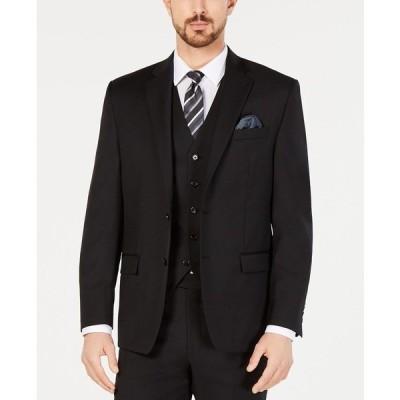 ラルフローレン ジャケット&ブルゾン アウター メンズ Men's Classic-Fit UltraFlex Stretch Suit Jackets Black Solid