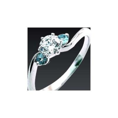 CanCam 掲載婚約指輪 ダイヤモンド プラチナエンゲージリング3月誕生石アクアマリン【今だけ代引手数料無料】