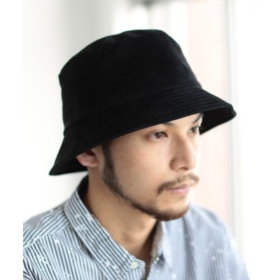 BEAMS MEN / BEAMS / レザー バケット ハット MEN 帽子 > ハット