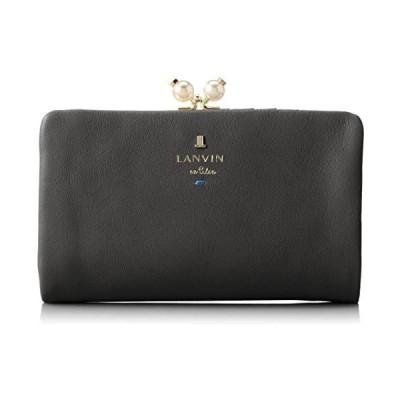 [ランバンオンブルー] 財布 新色シャペル (ブラック **)