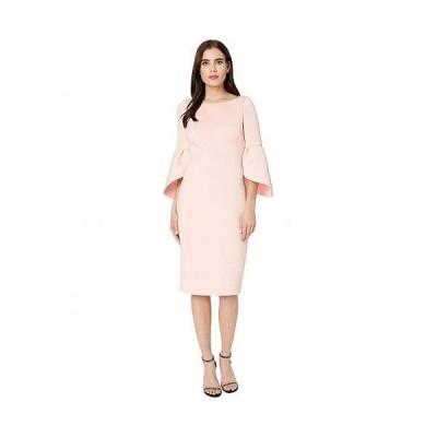 Badgley Mischka バッジリーミシュカ レディース 女性用 ファッション ドレス Tulip Sleeve Cocktail - Rosette