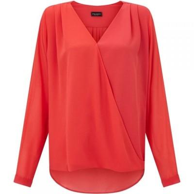 ジュームズ レイクランド James Lakeland レディース ブラウス・シャツ トップス Crossover Shirt Coral
