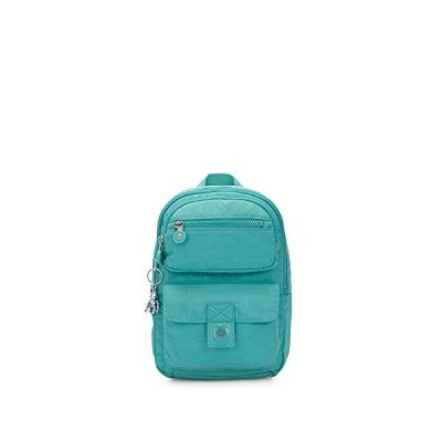 Kipling Atinaz Backpack, Seaglass Blue Fc 並行輸入品