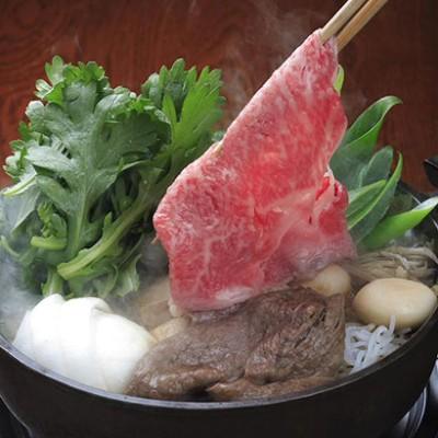 [京都・モリタ屋]国産黒毛和牛モモすき焼き(冷凍) 精肉