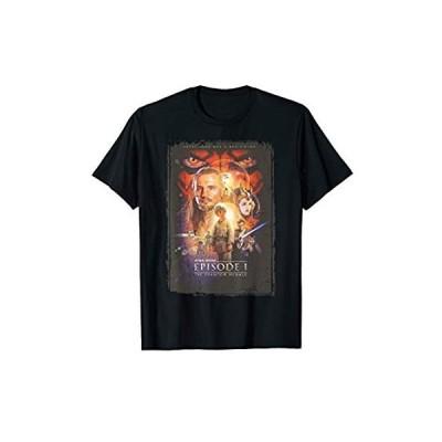 Star Wars The Phantom Menace Distressed Poster T-Shirt