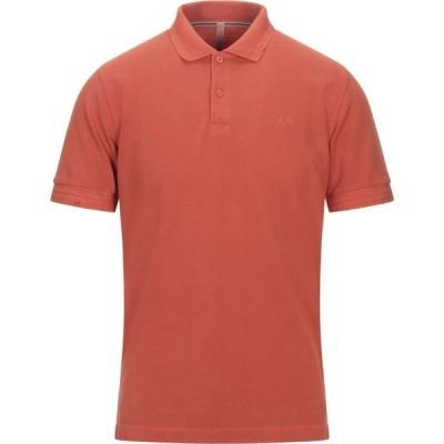 サン シックスティーエイト SUN 68 メンズ ポロシャツ トップス Polo Shirt Orange